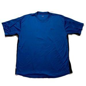 Nike Dri-Fit Blue Active Workout T Shirt XL